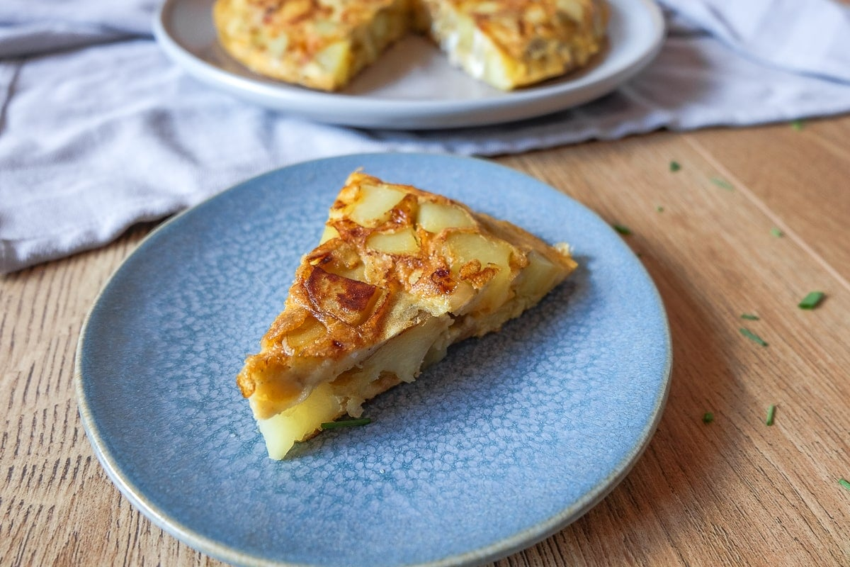 Spanish Omelette (Tortilla de Patatas) | Recipes From Europe