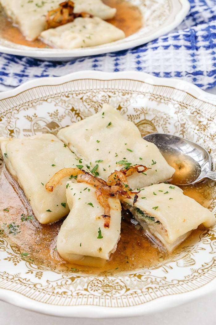 Maultaschen German Stuffed Pasta Recipes From Europe